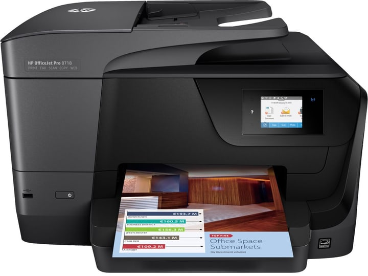OfficeJet Pro 8718 MFP Multifunktionsdrucker HP 797281400000 Bild Nr. 1