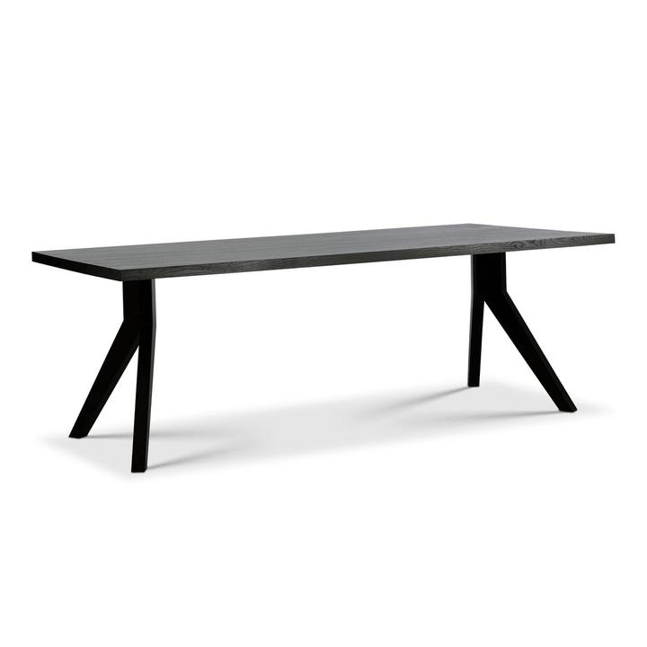 JADE Table 366121900000 Dimensions L: 240.0 cm x P: 100.0 cm x H: 75.0 cm Couleur Noir Photo no. 1
