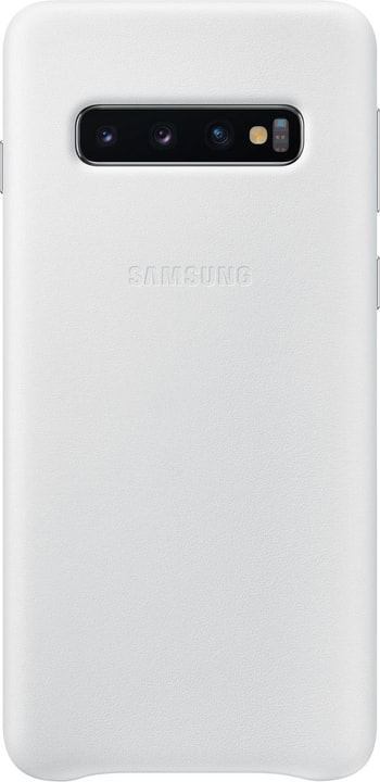 Leather Cover White Custodia Samsung 785300142448 N. figura 1