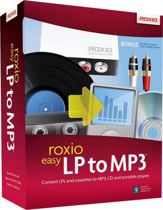 PC - Roxio Easy LP in MP3 Fisico (Box) 785300128555 N. figura 1