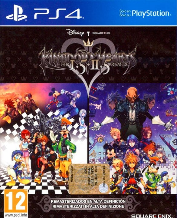 PS4 - Kingdom Hearts HD 1.5 & 2.5 ReMIX 785300122285 Bild Nr. 1