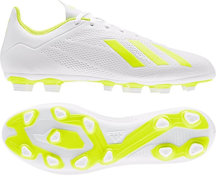 X 18.4 FG Herren-Fussballschuh Adidas 493090939010 Farbe weiss Grösse 39 Bild-Nr. 1