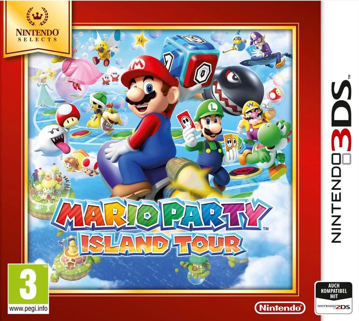 3DS - Nintendo Selects Mario Party Island Tour Fisico (Box) 785300120563 N. figura 1