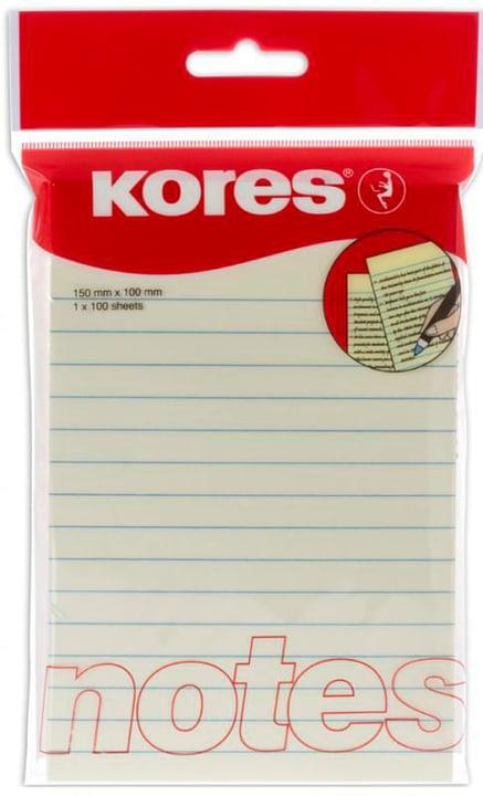 Notes 100 x 150mm  100 feuilles Kores 798240700000 Photo no. 1