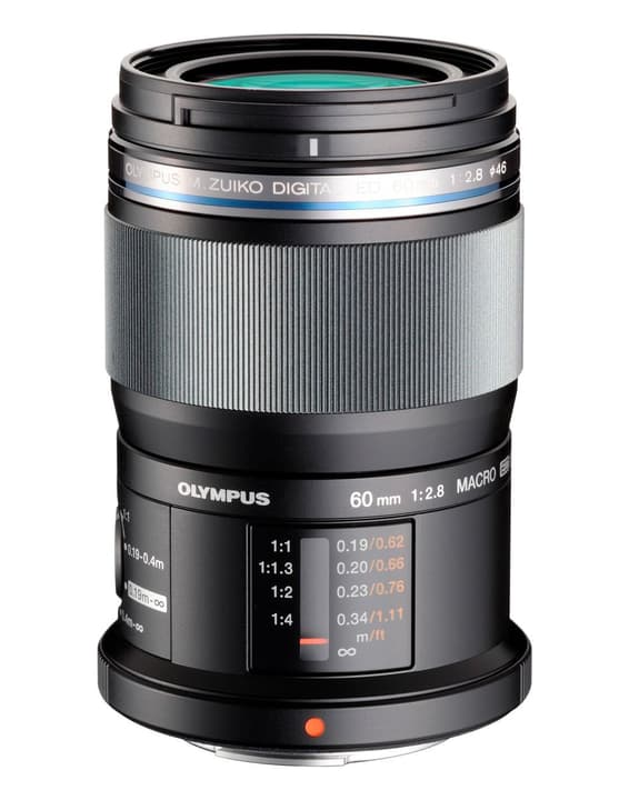 M.Zuiko DIGITAL ED 60mm f/2.8 Objectif Noir Objectif Olympus 785300125770 Photo no. 1