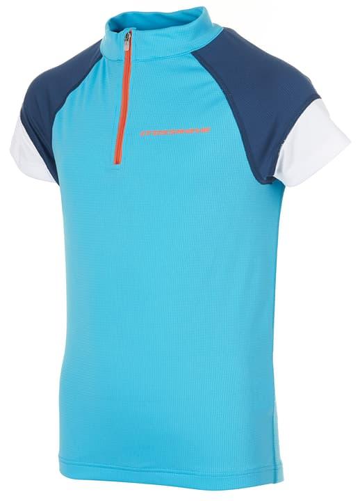 Maglietta da ciclismo per bambina Crosswave 462875614082 Colore turchese chiaro Taglie 140 N. figura 1