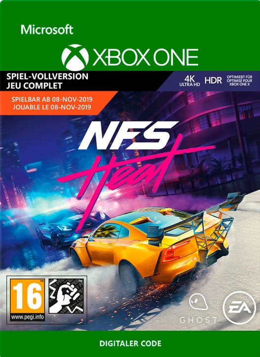 Xbox One - Need for Speed Heat Download (ESD) 785300147639 Photo no. 1