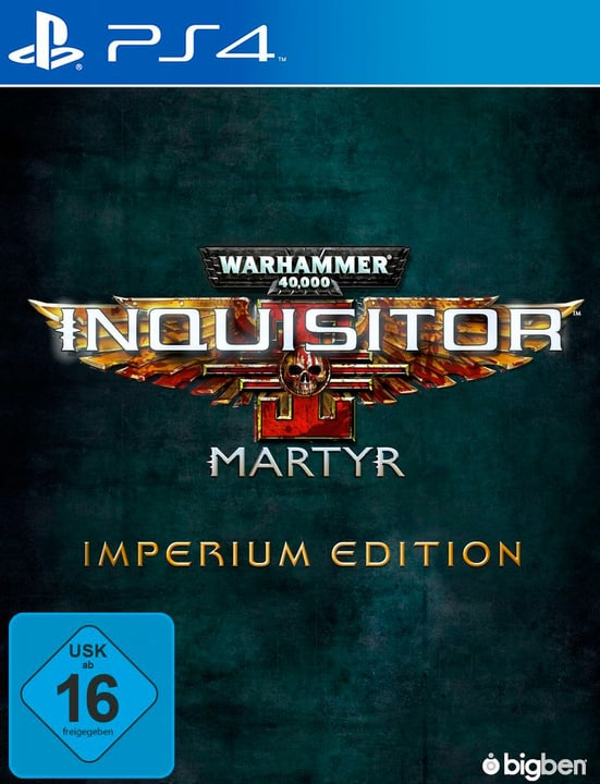 PS4 - Warhammer 40.000 Inquisitor Martyr - Imperium Edition Fisico (Box) 785300133087 N. figura 1