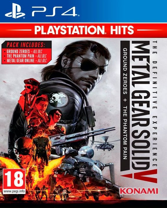 PS4 - PlayStation Hits: Metal Gear Solid - The Definitive Experience D/F Box 785300139877 Bild Nr. 1