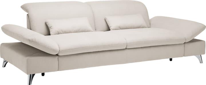 KLINGLER 3er-Sofa 405731300000 Farbe Hellgrau Grösse B: 176.0 cm x T: 126.0 cm x H: 94.0 cm Bild Nr. 1
