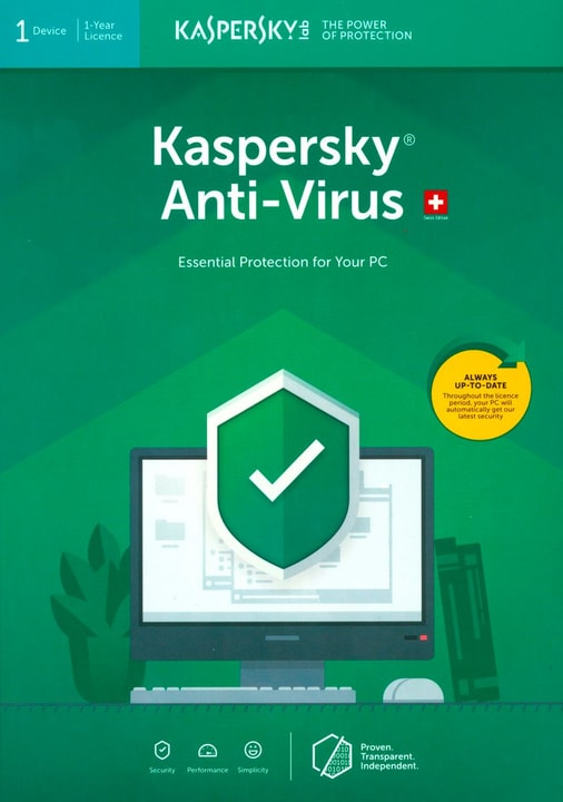 Anti-Virus (1 Device) [PC/Mac/Android] D/F/I Physique (Box) Kaspersky 785300137702 Photo no. 1
