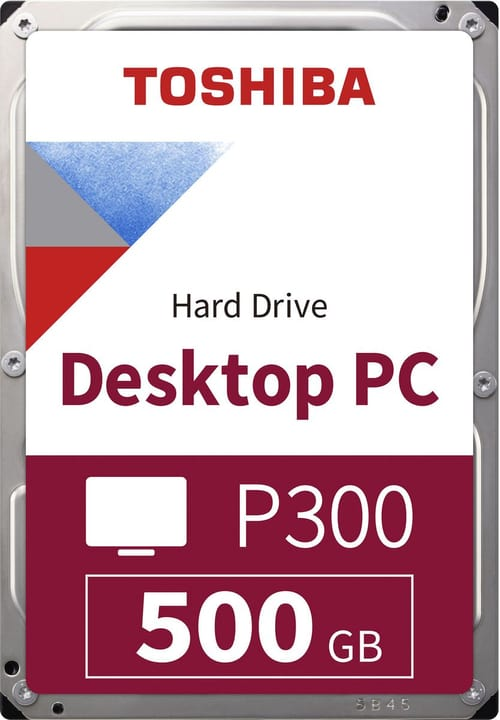 "P300 High Performance 500Go 3.5"" SATA Disque Dur Interne HDD Toshiba 785300137541 Photo no. 1"