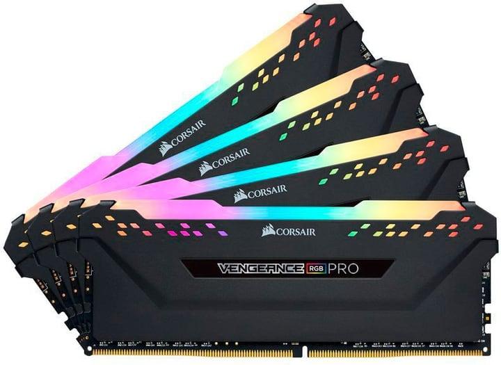 Vengeance RGB PRO Black DDR4-RAM 3200 MHz 4x 8 GB Mémoire Corsair 785300145528 Photo no. 1
