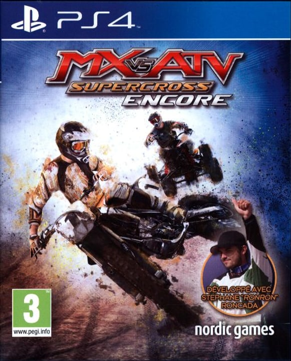 PS4 - MX vs ATV: Supercross Encore Box 785300121933 Photo no. 1