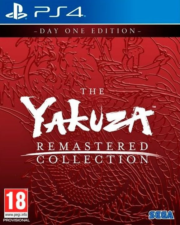 PS4 - The Yakuza Remastered Collection - Day 1 Edition D Box 785300148155 Bild Nr. 1