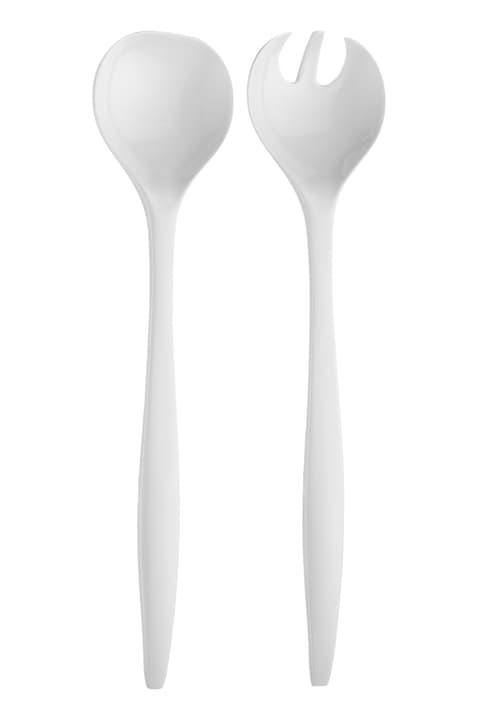 MELA Couverts à salade 441058000610 Couleur Blanc Dimensions L: 6.7 cm x H: 29.0 cm Photo no. 1