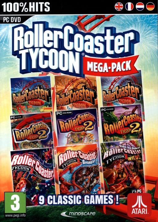PC - Roller Coaster Tycoon 9 - Mega Classic Games Box 785300121729 Photo no. 1