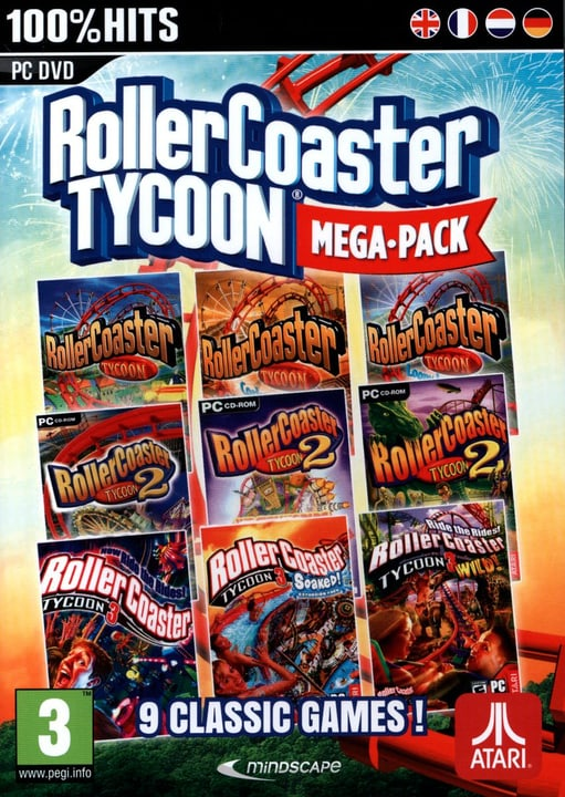 PC - Roller Coaster Tycoon 9 - Mega Classic Games Physique (Box) 785300121729 Photo no. 1