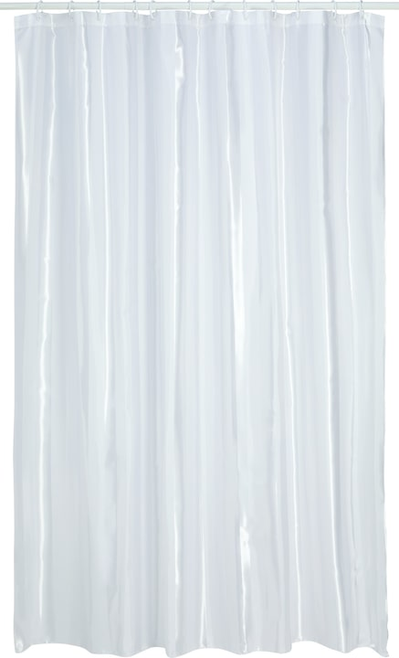 SHANTI Tenda da doccia 453156653110 Colore Bianco Dimensioni L: 120.0 cm x A: 200.0 cm N. figura 1