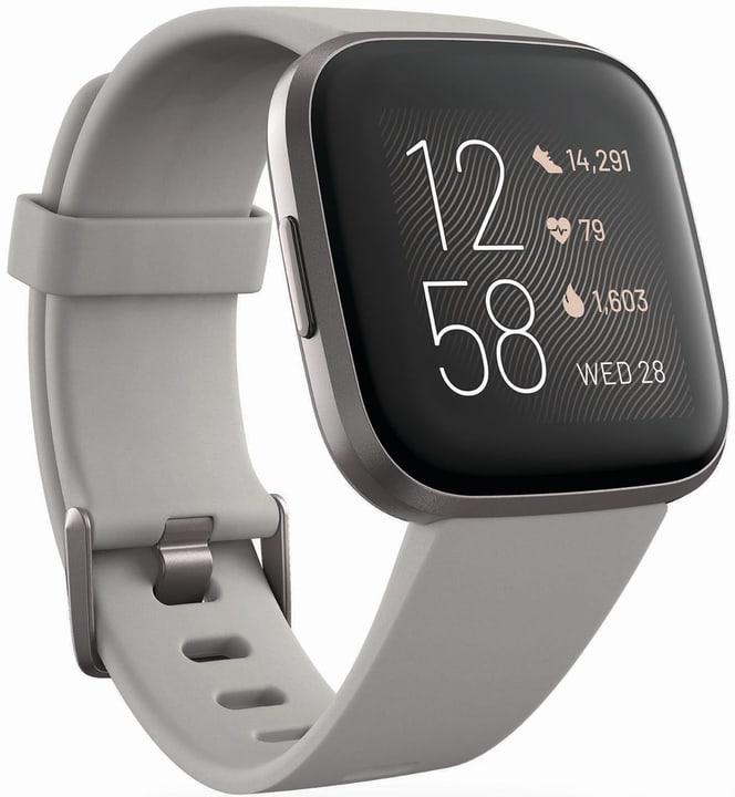 Versa 2 Stone/MistGrey Aluminum Smartwatch Fitbit 798707300000 Bild Nr. 1