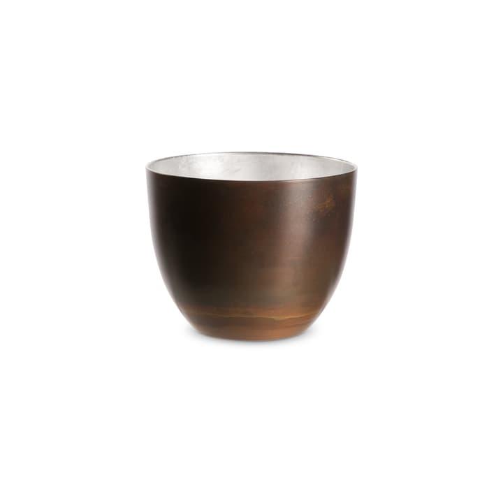 NIRVANA Teelichthalter 396116400000 Grösse H: 8.5 cm Farbe Silberfarben Bild Nr. 1