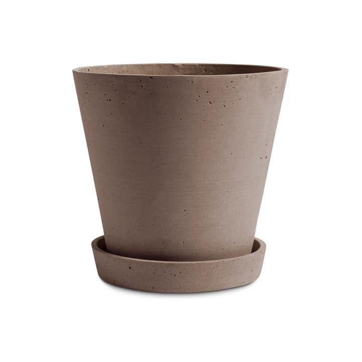 FLOWER POT / XL Cache-pot HAY 382076200000 Dimensions H: 20.0 cm Couleur Terracotta Photo no. 1