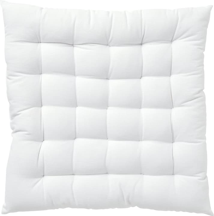 TERESA Coussin siege 450739940110 Couleur Blanc Dimensions L: 40.0 cm x H: 40.0 cm Photo no. 1