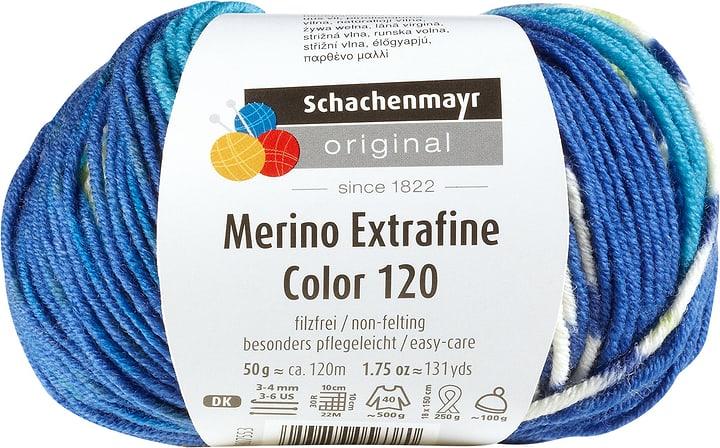 Lana Merino multicolor Schachenmayr 665510400060 Colore Blu N. figura 1