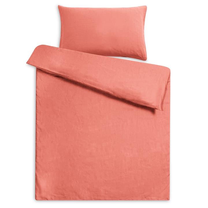 LINEN Federa per cuscino lino 376073310933 Dimensioni L: 100.0 cm x L: 65.0 cm Colore Marsala N. figura 1
