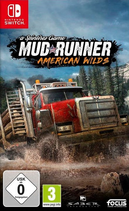 NSW - Spintires : MudRunner American Wilds Edition F Box 785300139891 N. figura 1