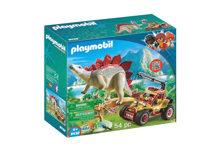 Playmobil Forschermobil mit Stegosaurus 9432 746096500000 Bild Nr. 1