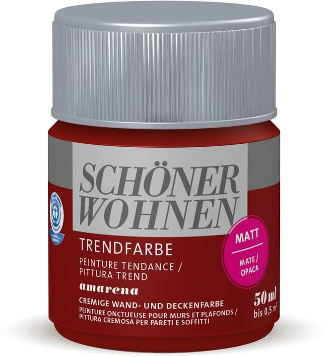 Testeur de couleur tendance Amarena 50 ml Schöner Wohnen 660941300000 Couleur Amarena Contenu 50.0 ml Photo no. 1