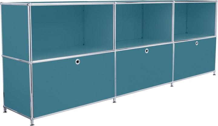 FLEXCUBE Buffet 401809600066 Dimensioni L: 227.0 cm x P: 40.0 cm x A: 80.5 cm Colore Petrolio N. figura 1