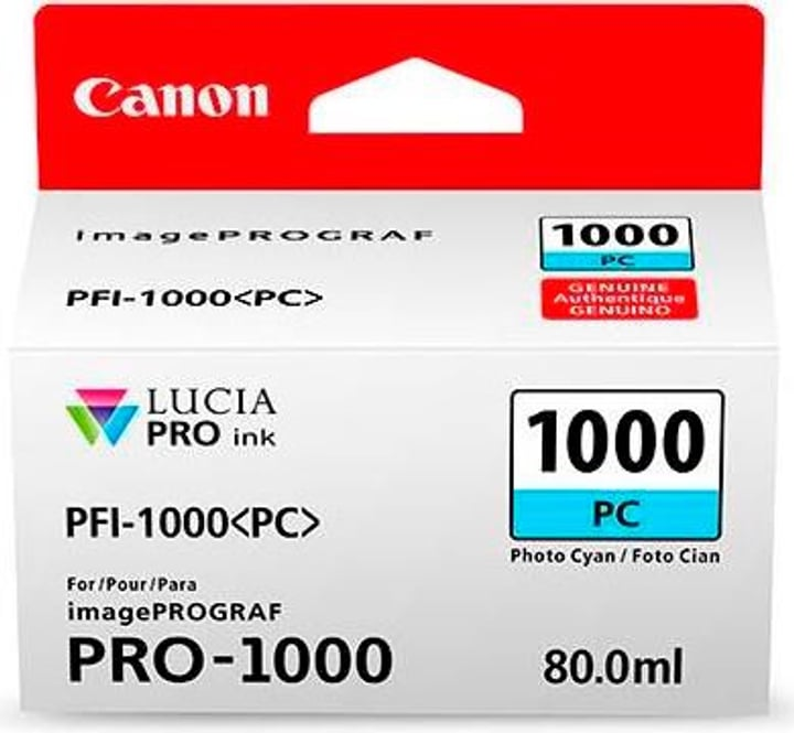 PFI-1000  photo cyan Cartouche d'encre Canon 785300126467 Photo no. 1