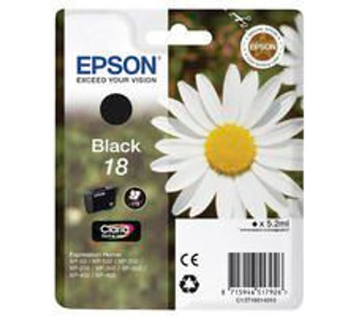 T180140 schwarz Tintenpatrone Epson 796081100000 Bild Nr. 1