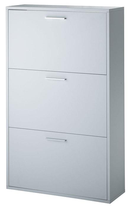 BLANC Scarpiera 400669700000 Dimensioni L: 72.0 cm x P: 25.0 cm x A: 116.0 cm Colore Bianco N. figura 1