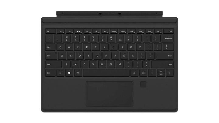 Surface Pro 4 Type Cover mit Fingerabdruck-ID, Schwarz Microsoft 785300125265 Bild Nr. 1