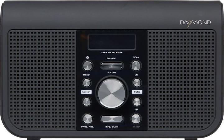 D.05.012 NX-35 - Schwarz DAB+ Radio Daymond 773023200000 Bild Nr. 1