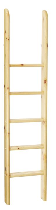 CLASSIC Scaletta diritta letto rialzato Flexa 404873500000 Dimensioni L: 41.0 cm x P: 11.0 cm x A: 185.0 cm Colore Natura N. figura 1