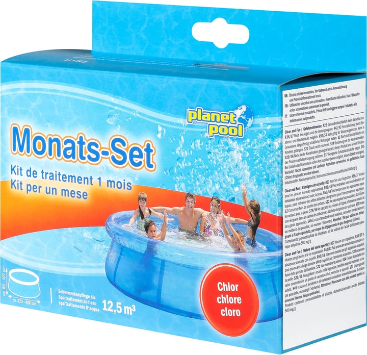 Montas-Set Chlor Planet Pool 647088100000 Bild Nr. 1