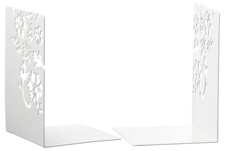 TREND FLOWER Reggilibri 440624900002 Colore Bianco Dimensioni L: 12.0 cm x P: 12.0 cm x A: 18.0 cm N. figura 1