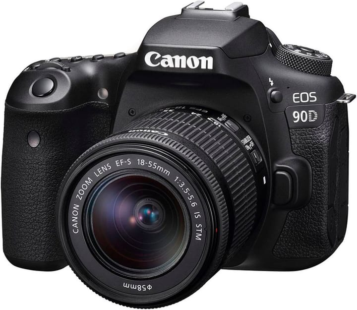 Canon EOS 90D + 18-55mm 3.5-5.6 IS STM Canon 785300146730 N. figura 1