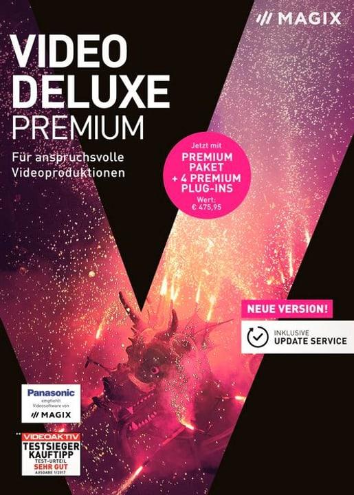 PC - Video deluxe 2018 Premium (D) Magix 785300129428 Photo no. 1
