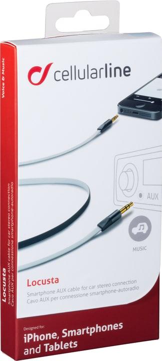 Cavo stereo 3.5mm bianco Cellular Line 621464800000 N. figura 1