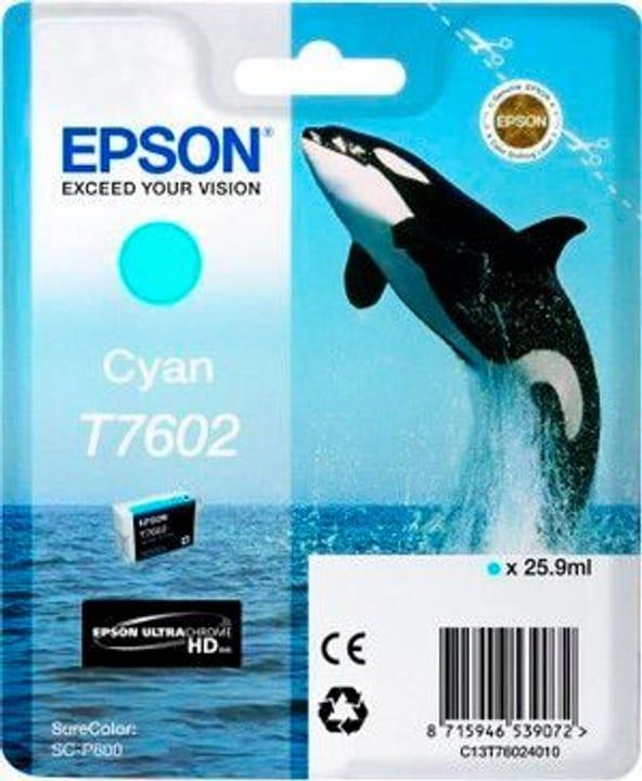 T7602 Tintenpatrone cyan Epson 798534700000 Bild Nr. 1