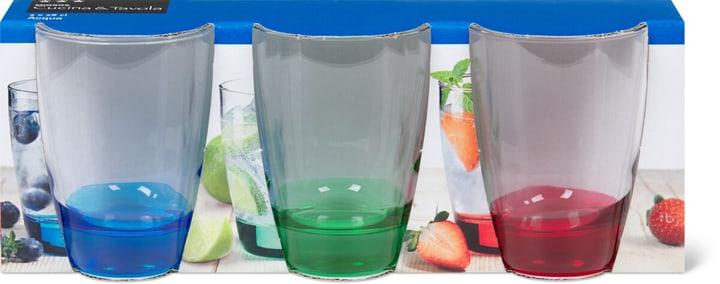 TRICOLORE Bicchiere per l'acqua Cucina & Tavola 701119600001 Dimensioni A: 9.8 cm N. figura 1
