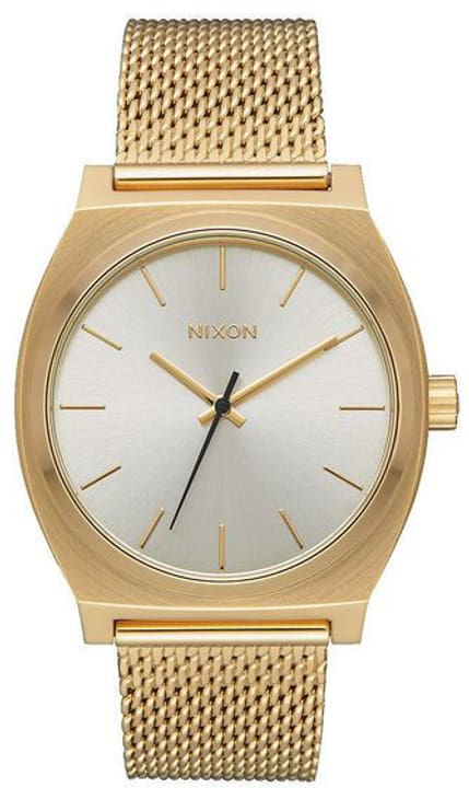 Time Teller Milanese All Gold Cream 37 mm Orologio da polso Nixon 785300137022 N. figura 1