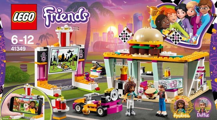 Lego Friends Il fast-food del go-kart 41349 748879800000 N. figura 1