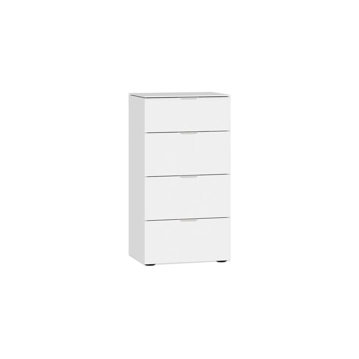 MILO Commode 364151300000 Couleur Blanc, verni brilliant Dimensions L: 45.0 cm x P: 43.0 cm x H: 87.0 cm Photo no. 1