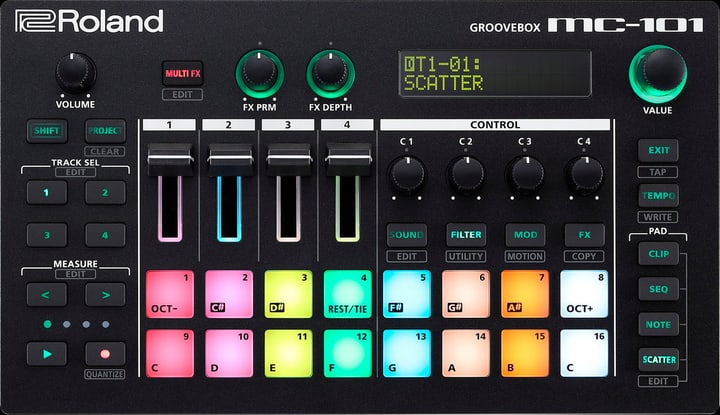 MC-101 Groovebox Roland 785300150557 Bild Nr. 1